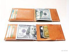 Arkan Minimalist Geldbörse Handmade pflanzlich von VonVantage