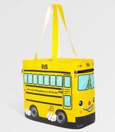 Yellow School Bus Tote  $38