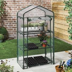 Three Tier Mini Greenhouse With PVC Cover