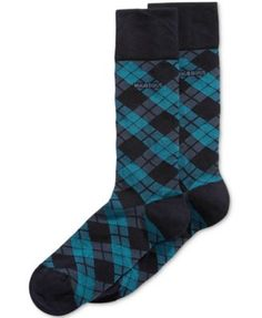Hugo Boss Men's Argyle Dress Socks
