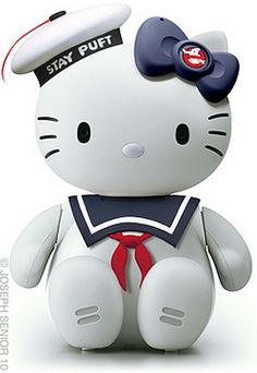 Hello Kitty Stay Puft