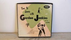 Time To Dance Gordon Jenkins Orchestra Vintage Record Capitol Records Hollywood That Old Black Magic 3 Record Set 1950s CCF 264