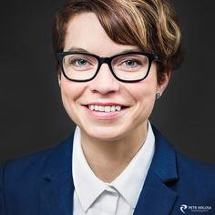 corporate portrait with Katka