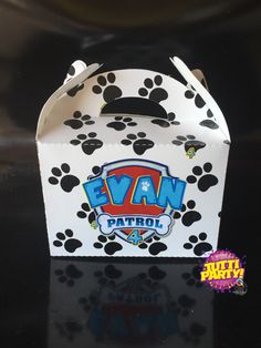 Party favor paw patrol, Party ideas paw patrol, patrulla de cachorros dulceros…