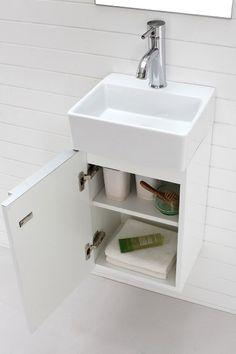 Illiana Smallest Wall Hung Vanity Ideal Small Bathroom Furniture