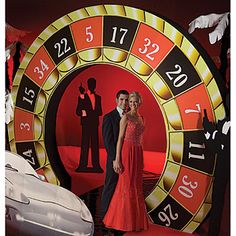 casino themed prom invitations | Casino Night Party Supplies and Decorations
