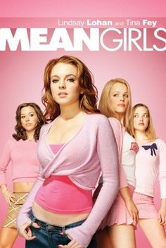 Watch->> Mean Girls 2004 Full - Movie Online Girly Movies, Good Movies, Disney Movies, Movies Showing, Movies And Tv Shows, Teenage Movie, Mean Girls Movie, Aesthetic Movies, Pink Aesthetic