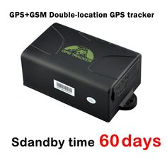 (59.32$)  Know more  - 60 Days Standby Time Magnet Car Gps Tracker Gps104 / Tk104,gps+gsm Double-location Waterproof Vehicle Gps Tracker