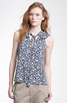MARC BY MARC JACOBS 'Ando Flower' Print Top