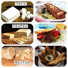 3x vleesvervangers, tofu, tempeh, seitan, vegan, beautiful food, foodblog, foodpic, foodpics, eetfoto's, mooie eetfoto's, foodporn, healthy, food, voedsel, recept, recipe