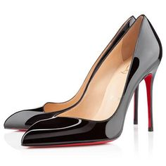 All You Need is Love And Christian Louboutin Corneille 100mm Pumps Black DVW!
