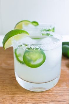 add 2-3 jalapeño slices to a cocktail shaker, and lightly muddle them in the bottom of the shaker. Add 1 ½ ounces of the jalapeño infused tequila, 1 ½ ounce of Triple Sec, 1 ½ ounces of lime juice, and 2 teasp