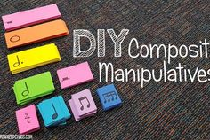 DIY Composition Manipulatives