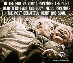 In the end. #inspiration #aging #affirmation
