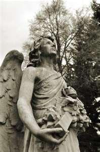 angel graveyard statue