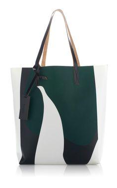 Marni Graphic Shopping Bag