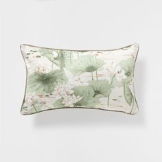 LOTUS FLOWER PRINT CUSHION - Decorative Pillows - Bedroom | Zara Home United States