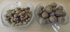 3 Korn-Geflügelleber-Kekse mit Apfel