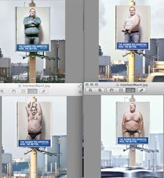 Interbest Outdoor, The Netherlands. | The Portrayal Of Overweight People In Advertising
