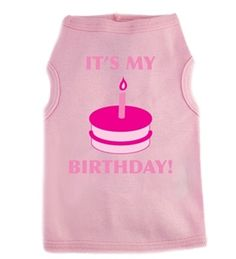 #Happy #Birthday #Dog T-shirt shirts is a fun and fashionable way to celebrate your fur babies birthday.