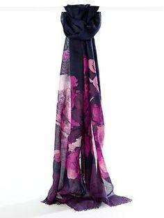 Zoe floral scarf | Banana Republic