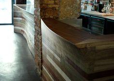 """bar à vins """"Chez Nous"""" / Paris // Woodwine /// © Atelier JMCA"""