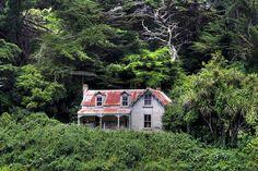 Old house, Middleton Road, Glenside, Wellington, New Zealand