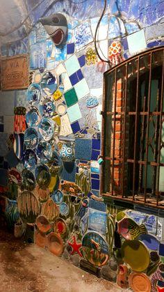 Street Art, Broken China, Dyi Crafts, Mosaic Projects, International Artist, Decorative Storage, Mosaic Wall, Next At Home, Whimsical Art