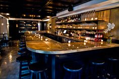 A.Bar, AKA Rittenhouse's Intimate New Cocktail Bar To Open Tuesday, July 9 - raw seafood bar, rare wines, artful cocktails