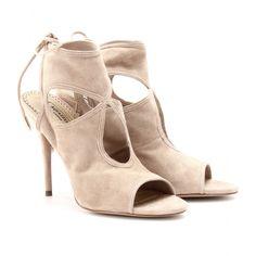 mytheresa.com - Aquazzura - SEXY THING SUEDE SANDALS - Luxury Fashion for Women / Designer clothing, shoes, bags