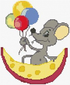 Cross Stitch   Mouse xstitch Chart   Design