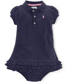 Ralph Lauren Baby Girls' Cupcake Dress - Baby Girl (0-24 months) - Kids & Baby - Macy's