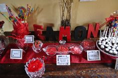 Red & Black Graduation Party