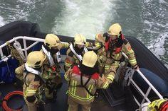 De brandweer en KNRM Breskens hadden een ingewikkeld scenario tijdens de jaarlijkse oefening.