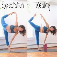 benefits of pilates Yoga Expectation vs. Fitness Workouts, Yoga Fitness, Cardio Workouts, Pilates, Yoga Nature, Yoga Props, Yoga Posen, Learn Yoga, Yoga Positions