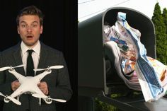 This drone will get your mail