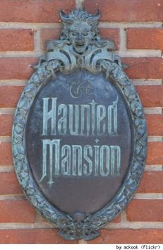 Disney's Haunted Mansion: 999 Crafty Haunts...a little wordy, but full of fun links about The Haunted mansion to check out later.