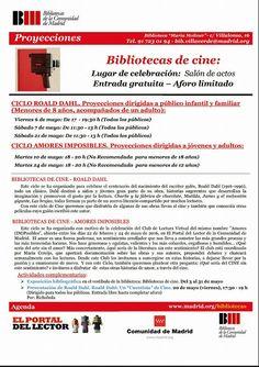 Gente de Villaverde: Bibliotecas de cine