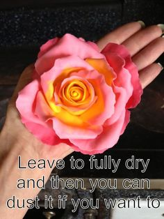 Bi Colour Rose Tutorial - by LMCakeDesign @ CakesDecor.com - cake decorating website