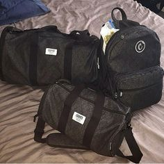 Smell proof bags from www.Cookiessf.com  I REALLY LIKE THE BACKPACK
