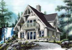 House Plan 65443    Plan with 1510 Sq. Ft., 3 Bedrooms, 2 Bathrooms