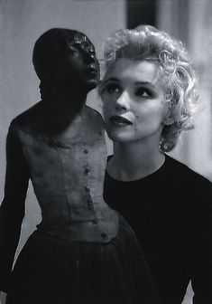 Marilyn Monroe andLittle Dancer of Fourteen Years-Edgar Degas (via: cultura.elpais.com)  June 1, 1926 – August 5, 1962