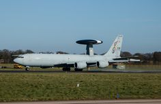 French Air Force Boeing E-3F Sentry AWACS