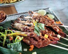 #Bali something delicious from @ManisanBali #Ubud Grilled Prawns Bumbu Tombur Aceh
