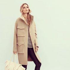 I'm having a serious coat crush  #nanushka #coat #aw13 #cravings