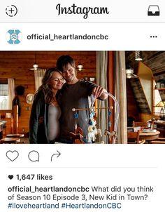 Heartland - Instagram -season 10 episode 3 - 1003 - 10 x 03 - s10 e3 - Ty and Amy - Tamy- baby - baby bump