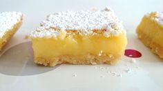 Pastelitos de limón o Cuadraditos de limón Postres Mil