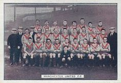 Man Utd team group in 1923-24.