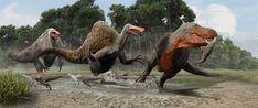 Deinocheirus vs Tarb...