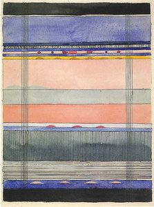 Design for a wall hanging  Undated  38x27.5 cm  Stiftung Bauhaus Dessau